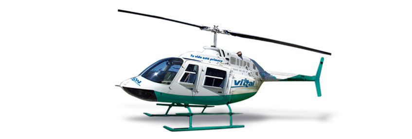 Flota Aeromédica: Helicóptero ambulancia. Ambulancia aérea de emergencias.