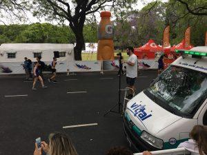 vittal cubriendo la Carrera Montagne 2016 con Ambulancias y Curso de RCP gratuito para todos.