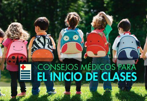 Consejos médicos para un buen inicio de clases